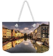 Reflections Over Ghent Weekender Tote Bag