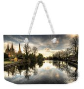 Reflections Over Lichfield Weekender Tote Bag