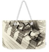 Wet Reflections Weekender Tote Bag