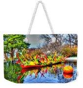 Reflective Boat Weekender Tote Bag