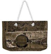 Reflective Bridge Weekender Tote Bag