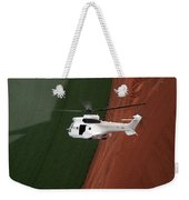 Reflective Helicopter Weekender Tote Bag
