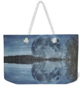 Reflective Paradise Weekender Tote Bag