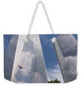 Reflective Skyscrapers Weekender Tote Bag