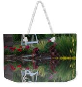 Reflective Thinking Weekender Tote Bag