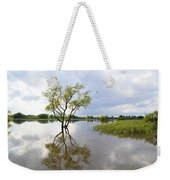Reflective Times Weekender Tote Bag