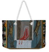 Refrigerator Rock And The King - Framed Weekender Tote Bag