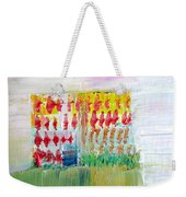 Refuge On The Cliff Weekender Tote Bag