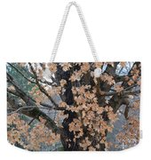 Refusing To Let Go Weekender Tote Bag