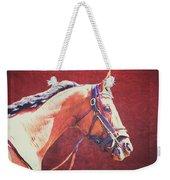 Regal Racehorse Weekender Tote Bag