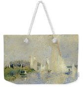 Regatta At Argenteuil Weekender Tote Bag