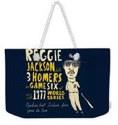 Reggie Jackson New York Yankees Weekender Tote Bag