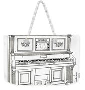 Regina Player Piano Weekender Tote Bag