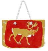 Reindeer Weekender Tote Bag by George Adamson