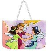 Rejoice Weekender Tote Bag by Sarah Batalka