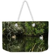 Relaxing On The River Weekender Tote Bag