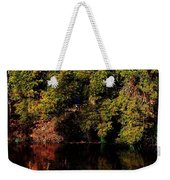 Relaxing To Sight Of Nature Weekender Tote Bag