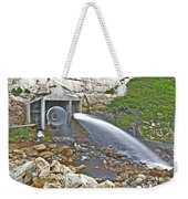 Release And Discharge Lower Bear River Weekender Tote Bag