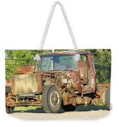 Relic Behind The Gas Station Weekender Tote Bag