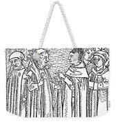 Religious Argument, 1477 Weekender Tote Bag