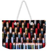 Religious Candles Weekender Tote Bag