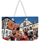 Religious Festival In Azores Weekender Tote Bag