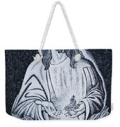 Religious Icons In Spanish Cemetery Weekender Tote Bag