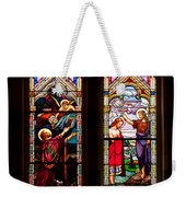Religious Stained Windows Weekender Tote Bag