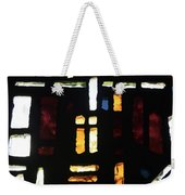 Religious Symbols In Glass Weekender Tote Bag