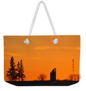 Remains Of A Farm Panorama Weekender Tote Bag