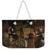 Rembrandt In His Studio Weekender Tote Bag
