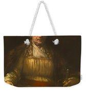 Rembrandt Self Portrait Weekender Tote Bag