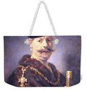 Rembrandt's A Polish Nobleman Weekender Tote Bag