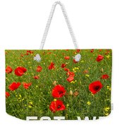 Remember Them Poster Version Weekender Tote Bag