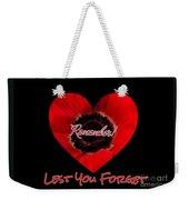 Remember With Love Weekender Tote Bag