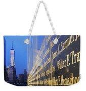 Remembering 9/11-hope And Despair Weekender Tote Bag