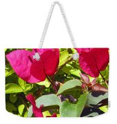 Remembering Magenta Weekender Tote Bag