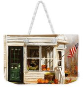 Remembering When- Porches Art Weekender Tote Bag
