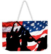 Remembering World War II Weekender Tote Bag by Bob Orsillo