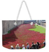Remembrance Poppies At Tower Of London Weekender Tote Bag