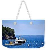 Remington Lobster Boat Weekender Tote Bag