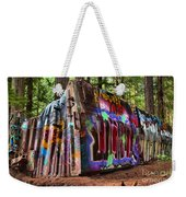 Remnants Of The Whister Train Wreck Weekender Tote Bag