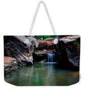 Remote Falls Weekender Tote Bag by Chad Dutson
