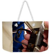 Removing A Switch Weekender Tote Bag