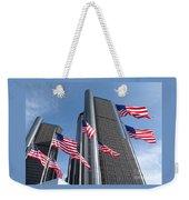 Rencen And Flags Weekender Tote Bag