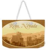 Reno Nevada  Weekender Tote Bag