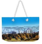 Reno Skyline From Rancho San Rafael Weekender Tote Bag