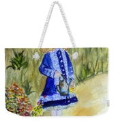 Renoir Girl With Watering Can In Watercolor Weekender Tote Bag
