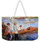 Renoir's Oarsmen At Chatou Weekender Tote Bag