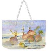 Renoirs Onions In Watercolor Weekender Tote Bag